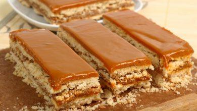 Photo of Receta de Tarta de galletas al caramelo