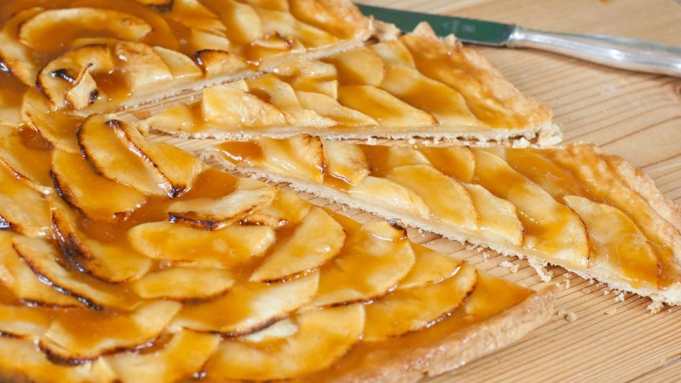 Photo of Receta de Tarta de manzana fácil en microondas