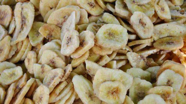 Tarta de plátano y almendras
