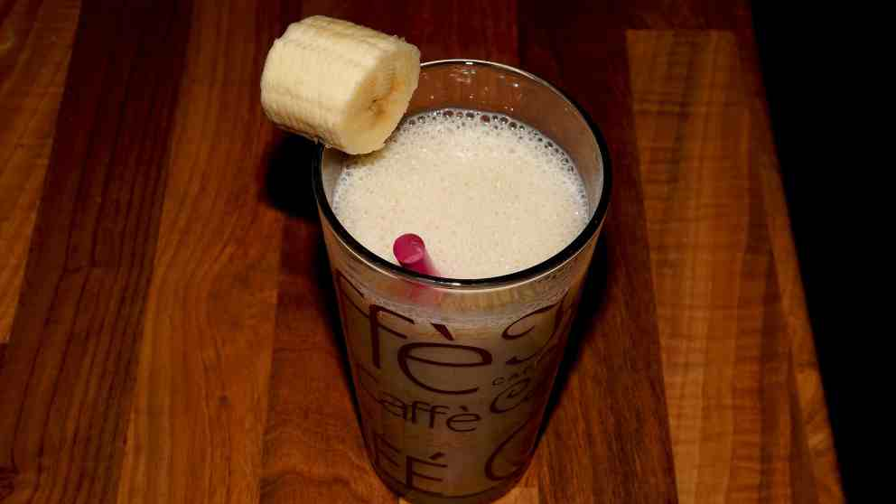 Photo of Receta de Batido de cacahuetes y plátano