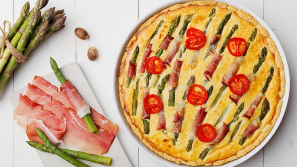 Photo of Receta de pastel de jamón y espárragos