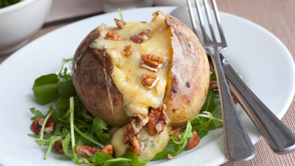 Photo of Receta de patatas rellenas de champiñones y bechamel