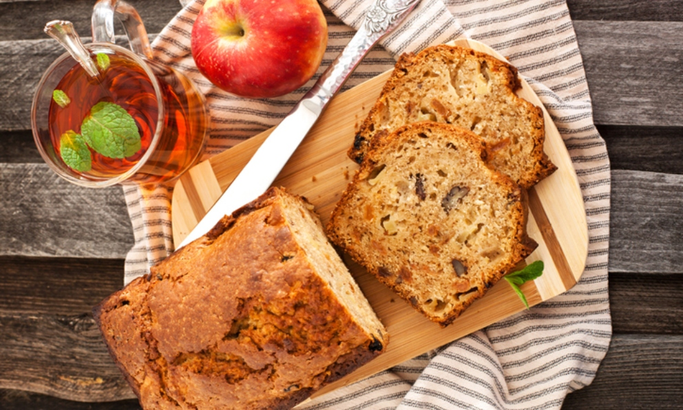 Photo of Receta de plum cake de manzana con canela y nueces