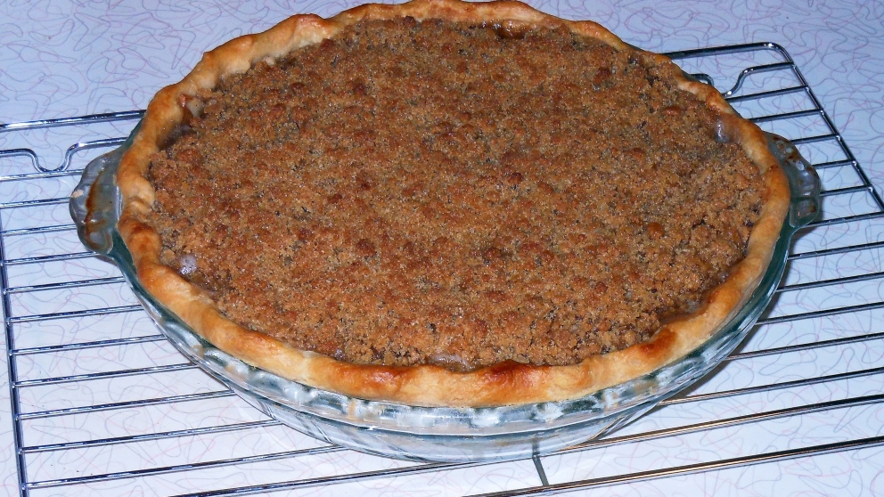 Photo of Receta de Crumble vegano de manzana