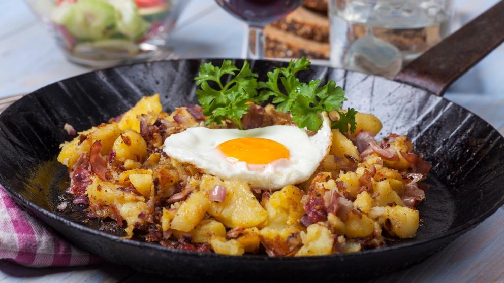 Photo of Receta de Patatas a la tirolesa