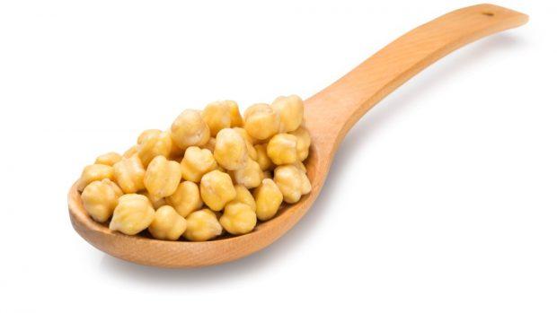 Receta de ensalada de garbanzos con vinagreta de soja