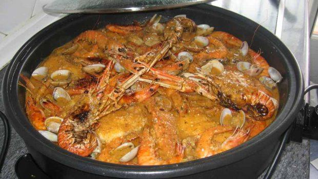 Caldereta recetas de pescado Navidad