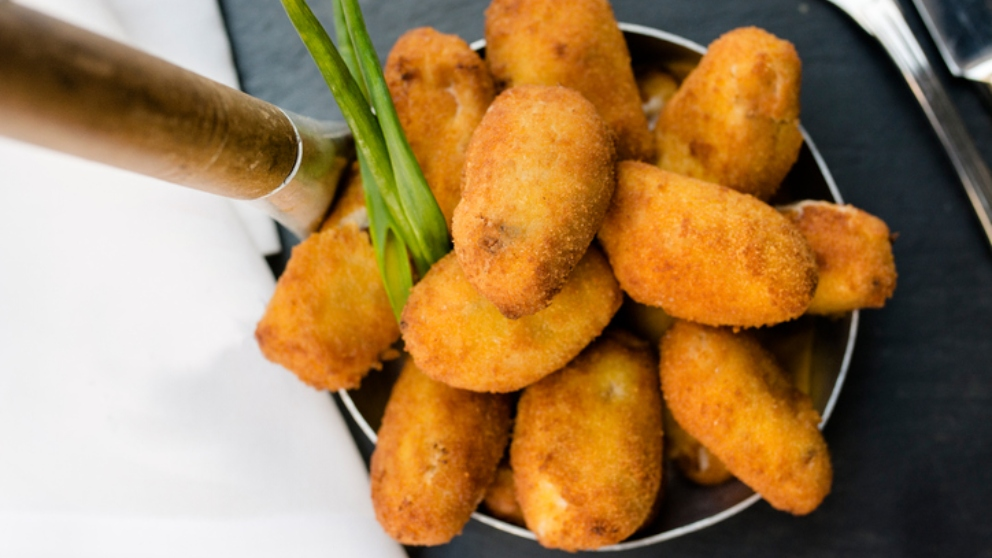 Photo of Receta de croquetas de berenjenas y gambas