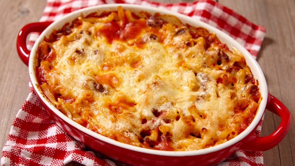Photo of Receta de macarrones con carne y bechamel