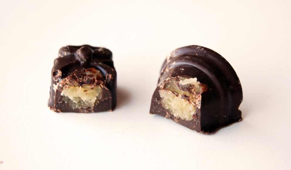 Photo of Receta de Mazapán con cobertura de chocolate