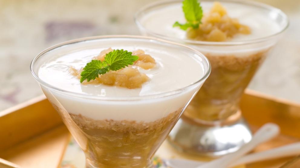 Photo of Receta de mousse de yogur con mazana sin azúcar