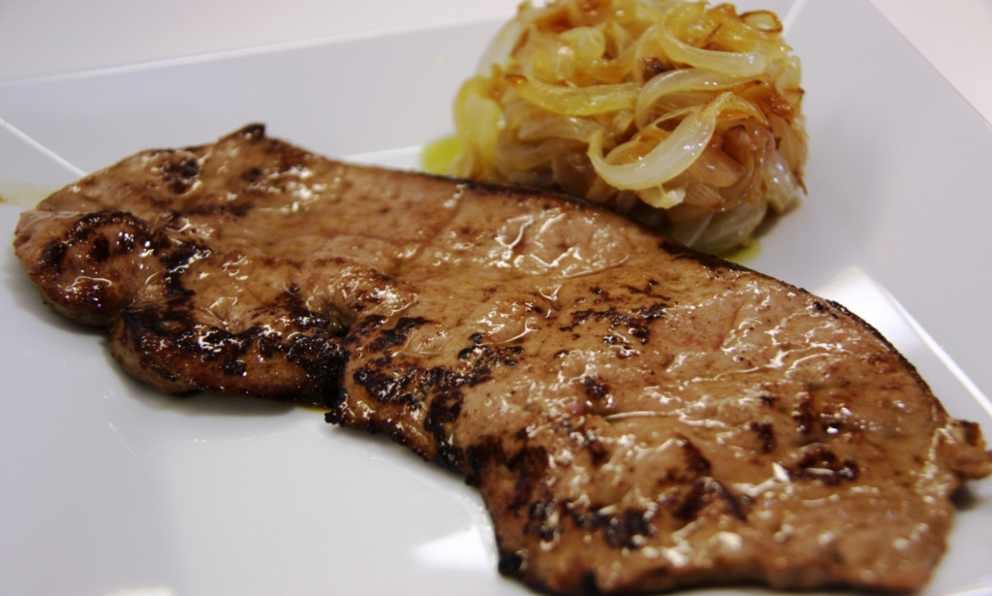 Photo of Receta de Bistec de hígado de ternera frito