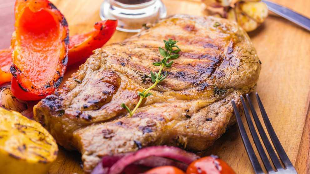 Receta de cabezada de cerdo al horno 1