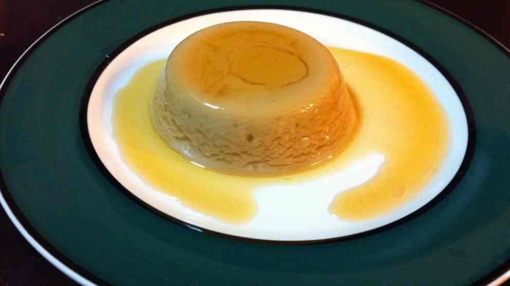 Receta de Flan de huevo sin gluten ni lactosa 1