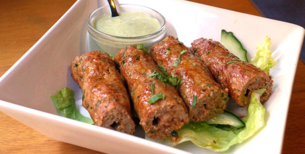 Photo of Receta de Kebab de cordero casero con salsa de setas