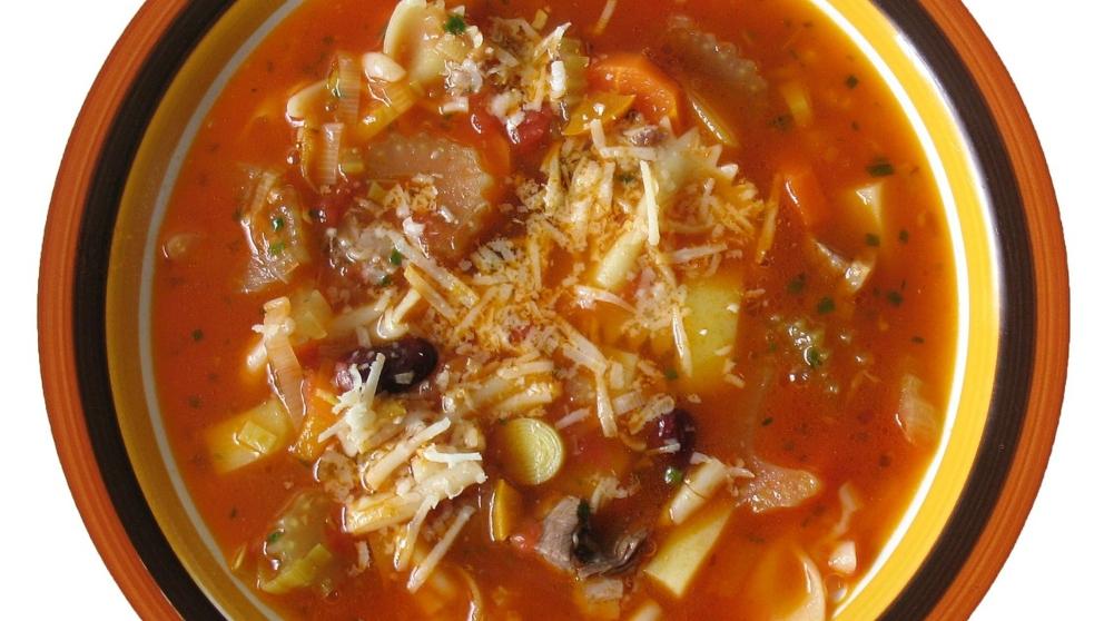 Photo of Receta de Sopa de verduras y champiñones con azafrán
