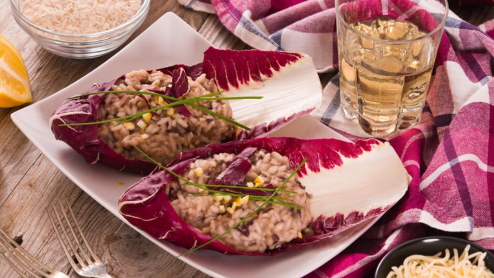 Receta de risotto de col rizada 1