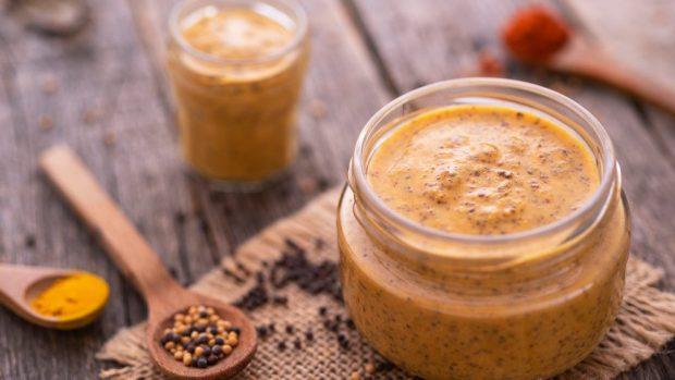 Receta para salsa dorada en salsa de mostaza