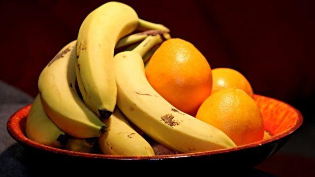 Batido de plátano, naranja y licor