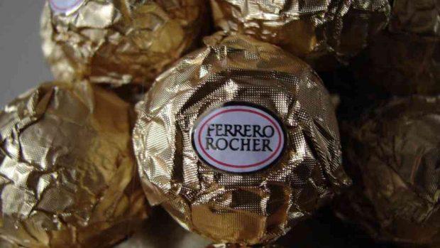 Flan de bombones Ferrero Rocher