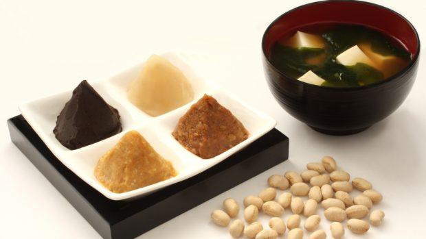 Receta de sopa de quinua y miso