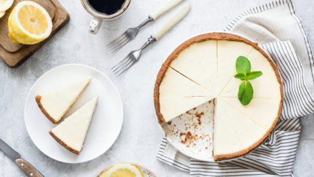 Receta de pastel de queso Philadelphia con leche condensada