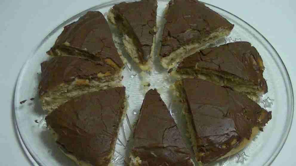 Photo of Receta de Cuñas de natillas y chocolate