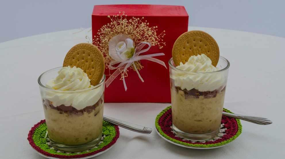 Photo of Receta de Mousse de queso y galletas al caramelo