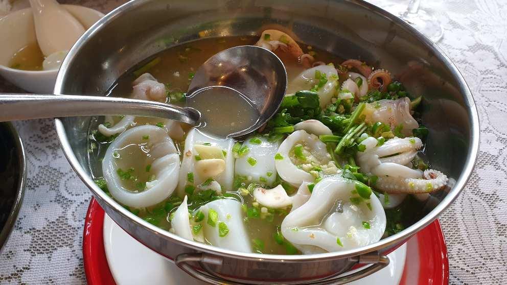 Photo of Receta de sopa aromática de sepia