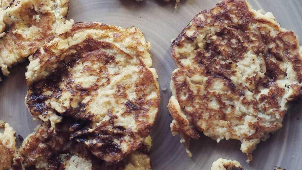 Receta de Tortitas de plátano y almendra 1