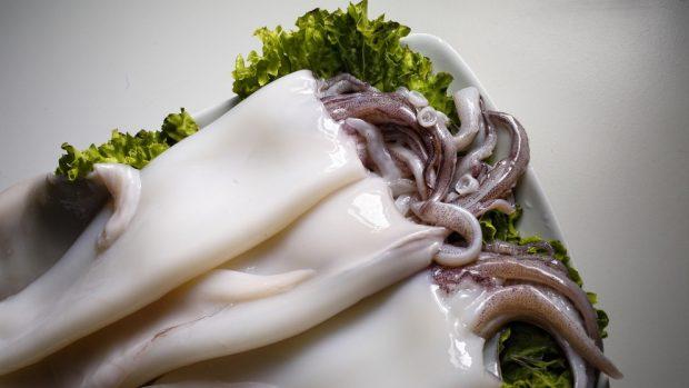 Estofado de lentejas con calamares