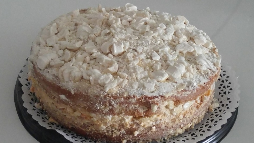 Photo of Receta de Pastel ruso con crema de avellanas