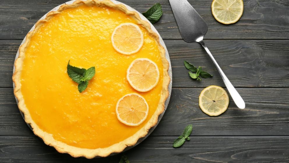 Photo of Receta de tarta de limón vegana sin horno