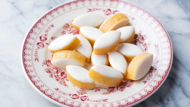 Receta de galletas de naranja y almendras sin gluten