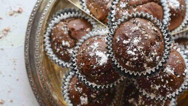 Pastelitos de chocolate y coco