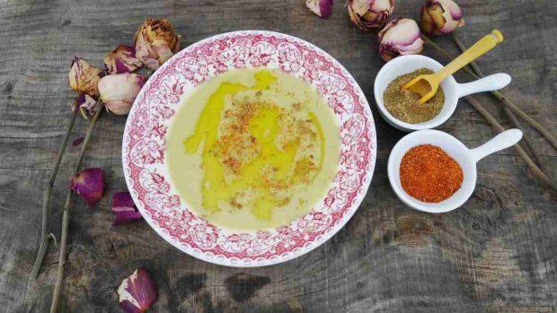 Sopa marroquí tradicional
