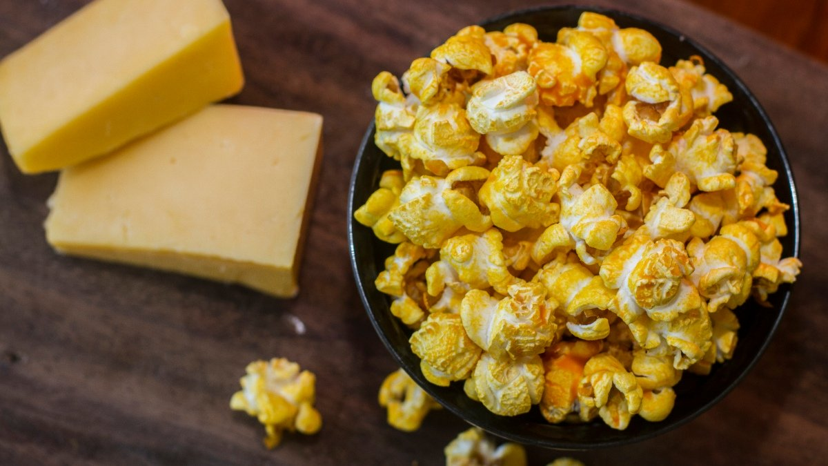 Photo of Palomitas de maíz con bacon y queso