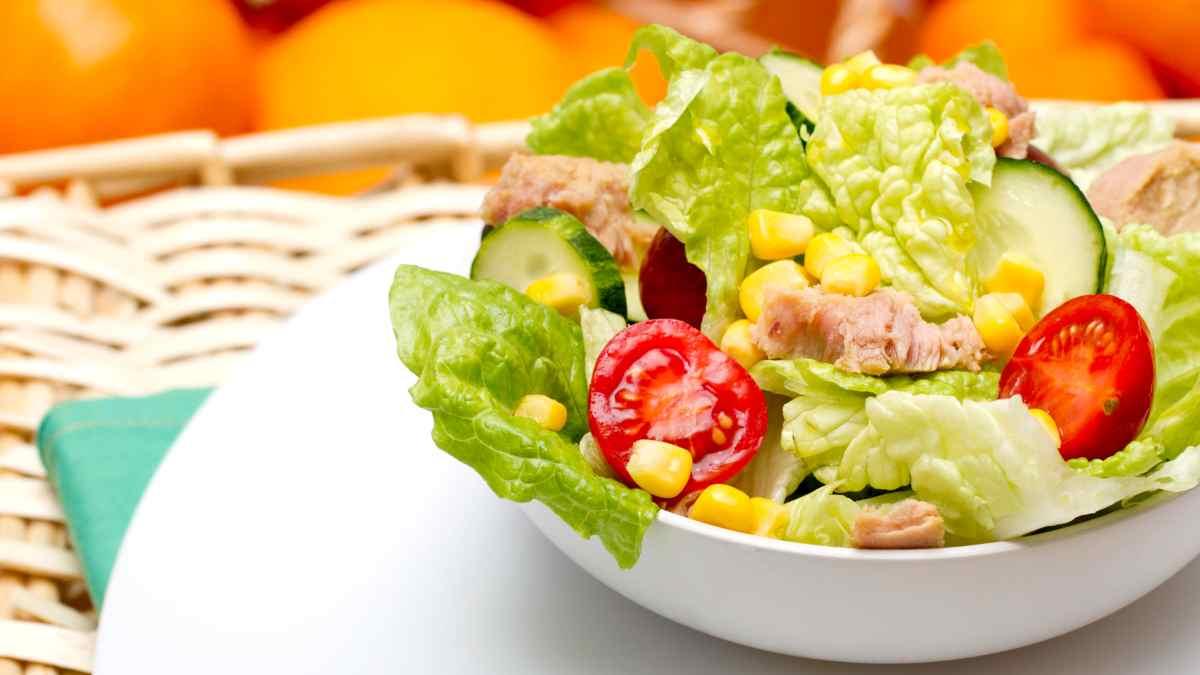 Photo of Receta de Ensalada de maíz con tomate y pepino