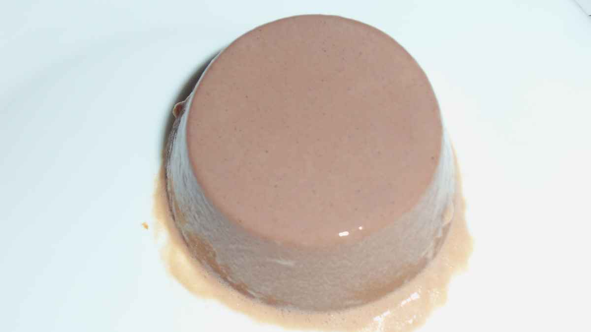 Photo of Receta de Flan de caqui y cacao