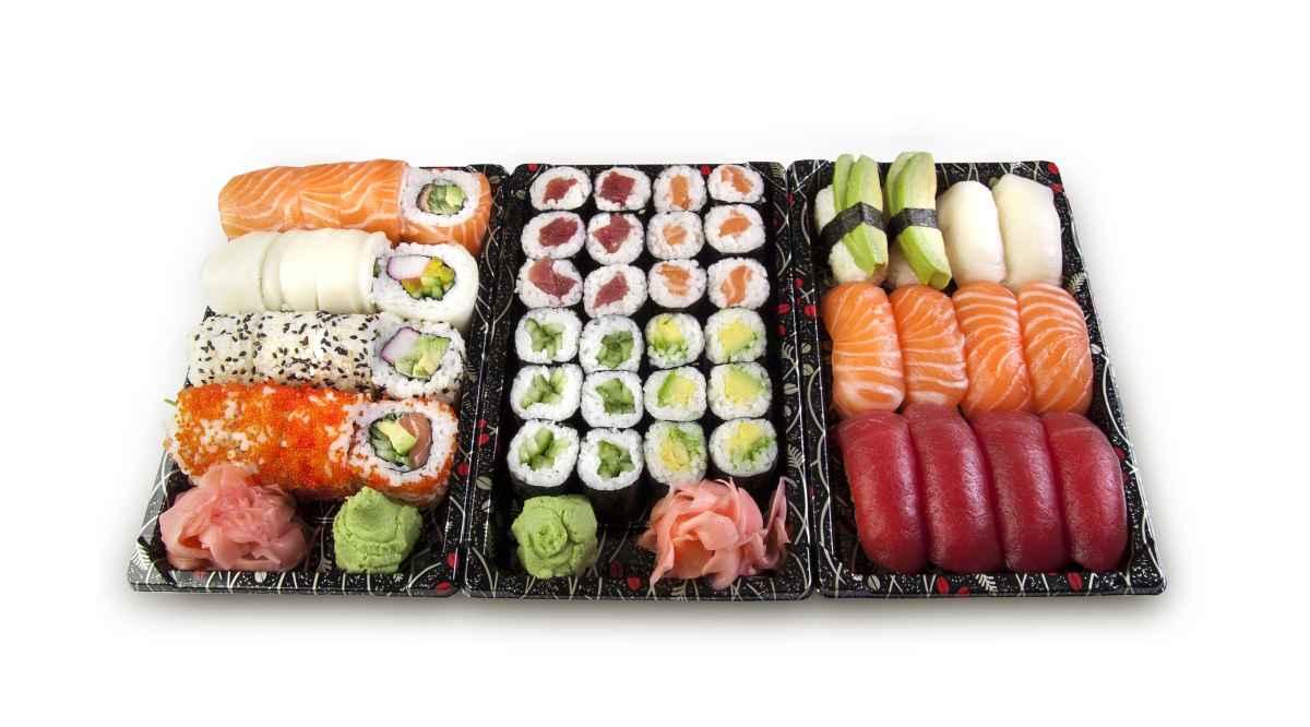 Receta de nigiri sushi con setas 1