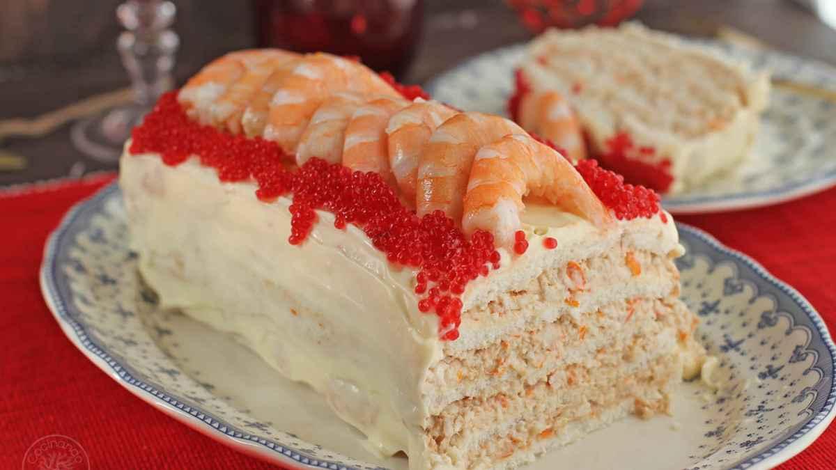 Receta de pastel de carabineros 1