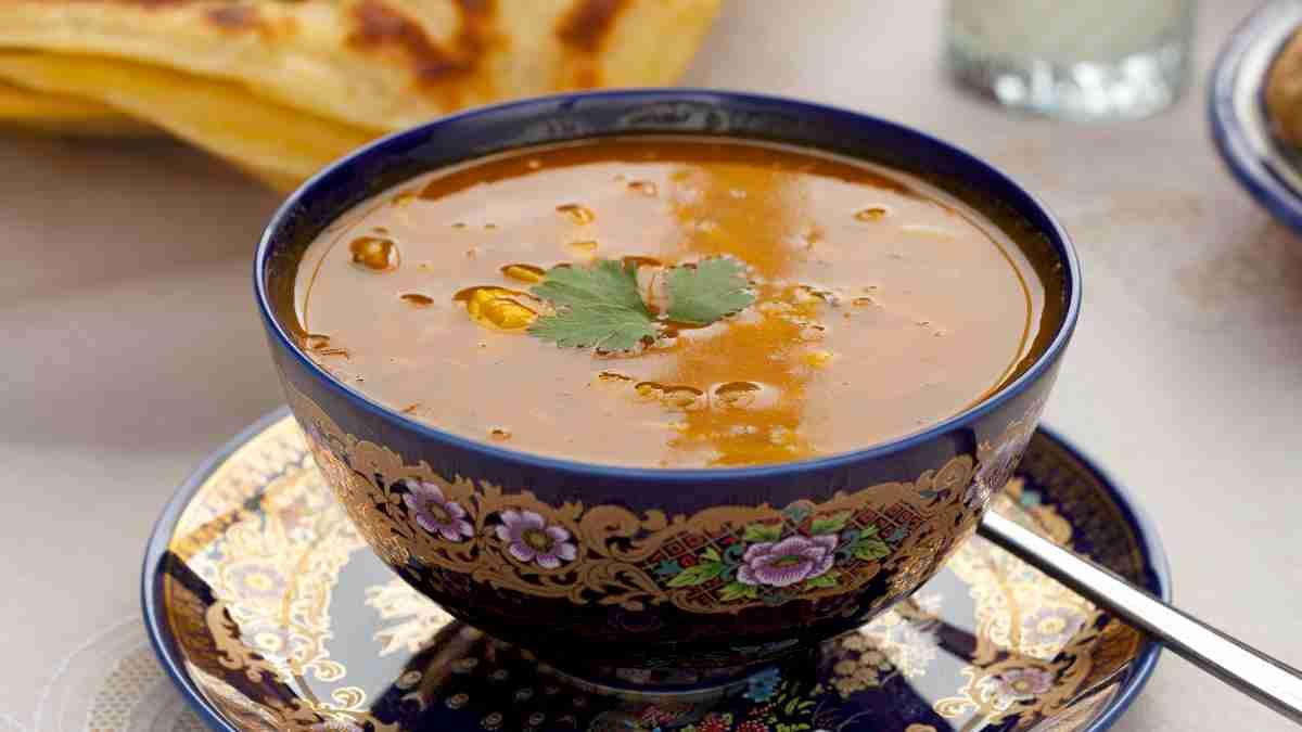 Receta de sopa marroquí tradicional 1