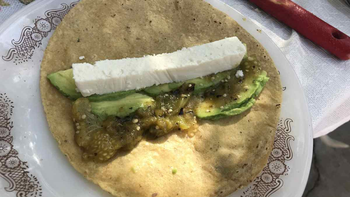 Receta de Tortillas mexicanas de tofu picante 1