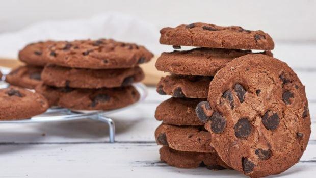 Recetas de confinamiento: galletas con chispas de chocolate, avellanas y café.
