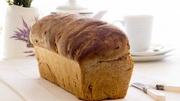 Pan de ajo entero