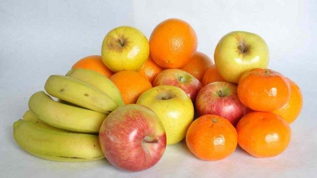Bizcocho de mandarina y plátano