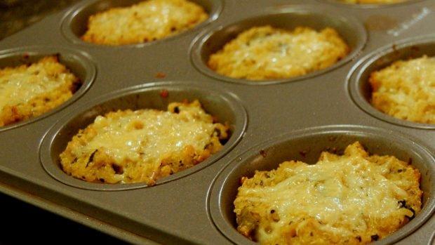 Risotto de quinua con verduras y salsa de queso