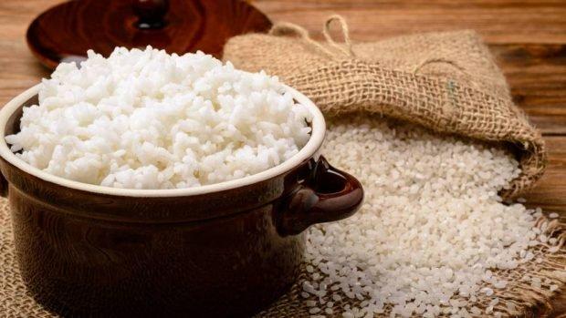Receta para pastel de arroz sin gluten ni harina.