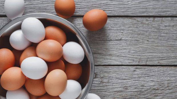 Receta de crema de champiñones y huevo