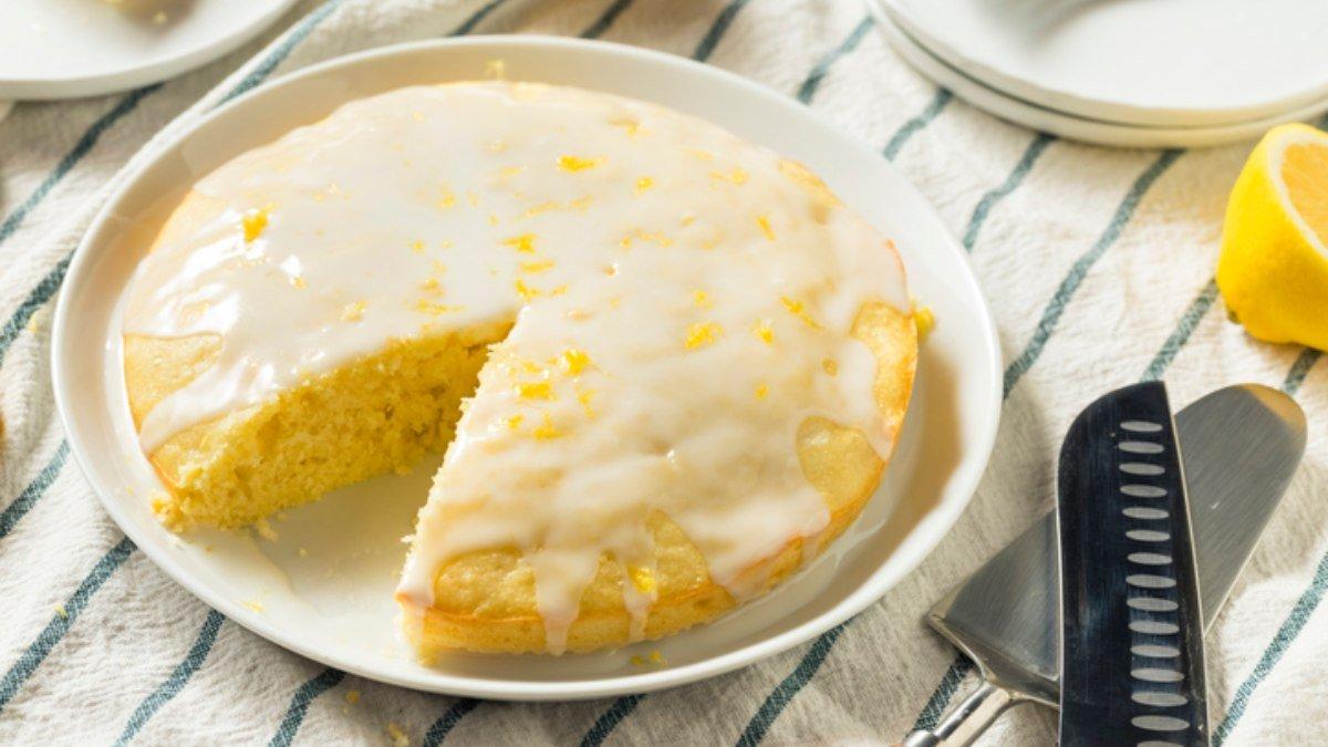 Receta de bizcocho de harina de maíz y limón 1